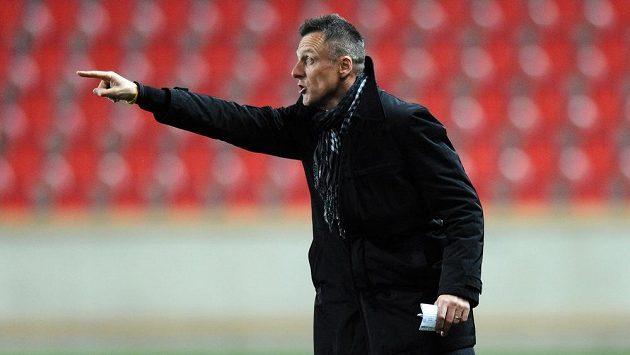 Trenér Dukly Luboš Kozel se svým mužstvem výhry nad Slavií nedosáhl.