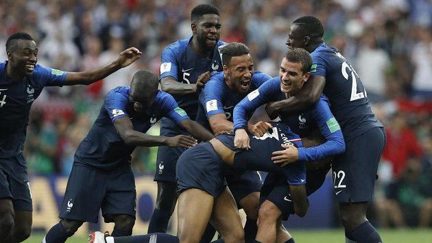 Fotbalisté Francie zažili na fotbalovém MS hodně radosti.