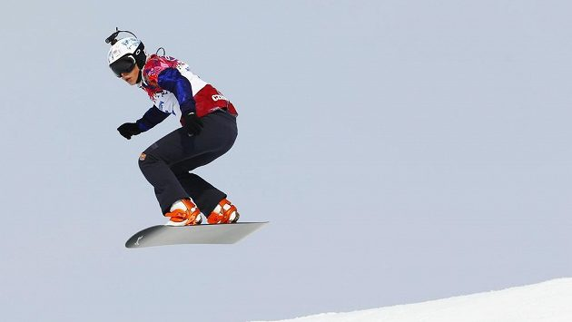 Česká snowboardkrosařka Eva Samková