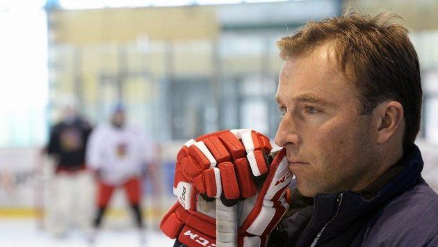 Manažer hokejové reprezentace hráčů do 18 let Milan Hnilička.
