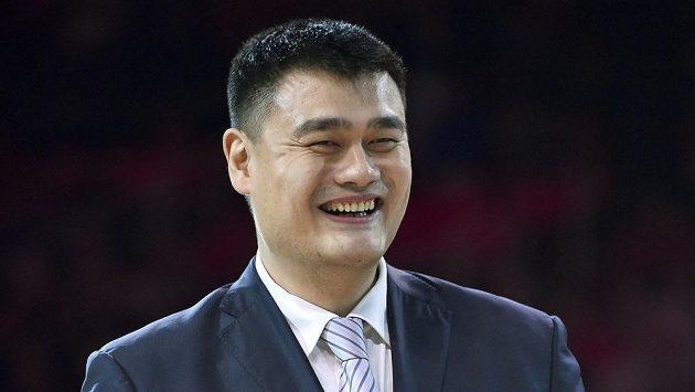 Jao Ming byl zvolen šéfem čínské basketbalové asociace