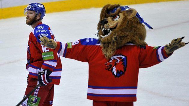 Jiří Novotný povede hokejisty Lva na ledě při finále Kontinentální ligy.