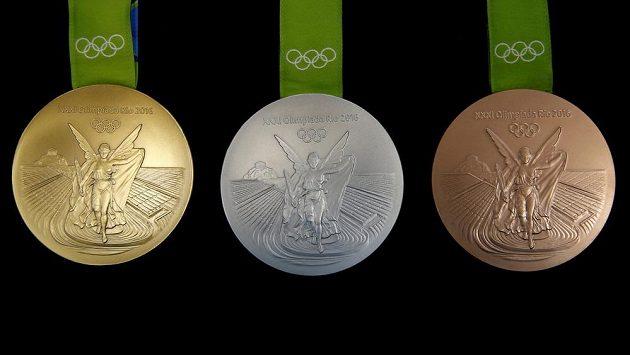 Medaile pro OH v Riu. Ilustrační foto.