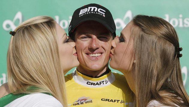 Lídr závodu Kolem Švýcarska Mathias Frank