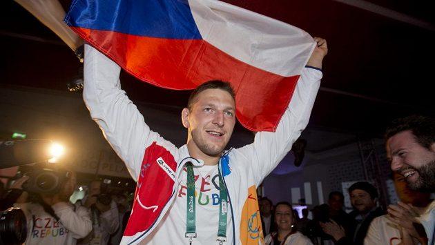 Judista Lukáš Krpálek i další medailisté se přesouvají na Lipno.