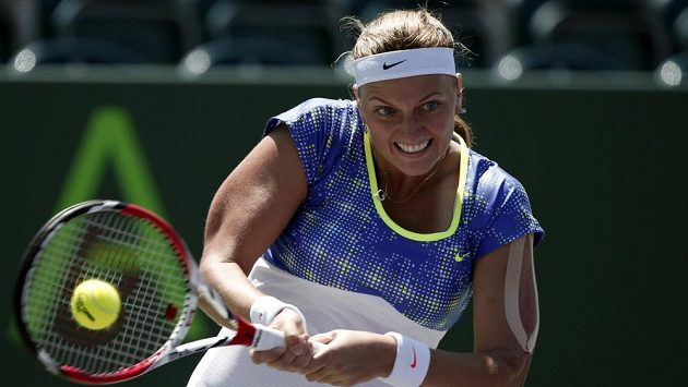 Tenistka Petra Kvitová si v Katovicích zahraje o titul.