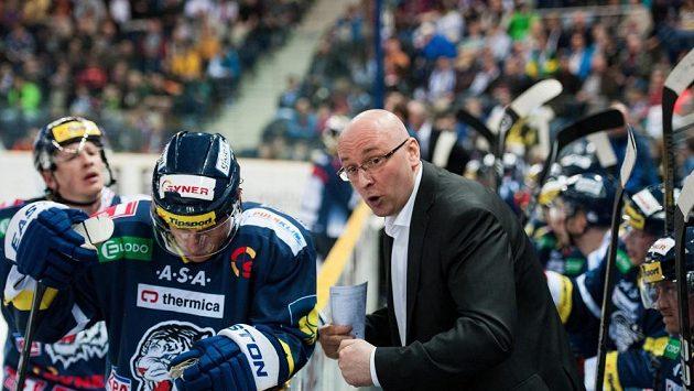 Liberecký trenér Pavel Hynek.