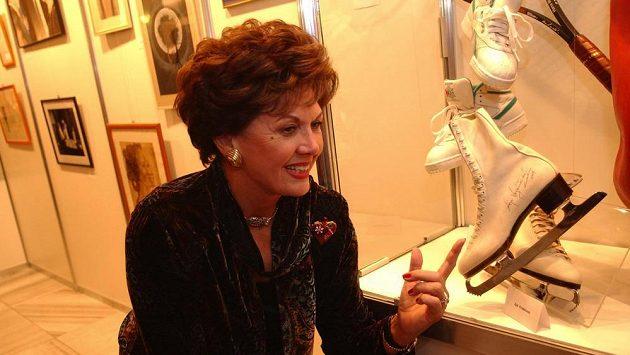 Aja Vrzáňová na snímku z prosince 2004