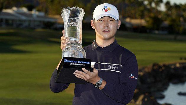 Korejec Kim Si-u a získal třetí titul na PGA Tour