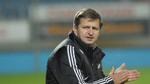 Trenér fotbalistů Českých Budějovic Miroslav Soukup.