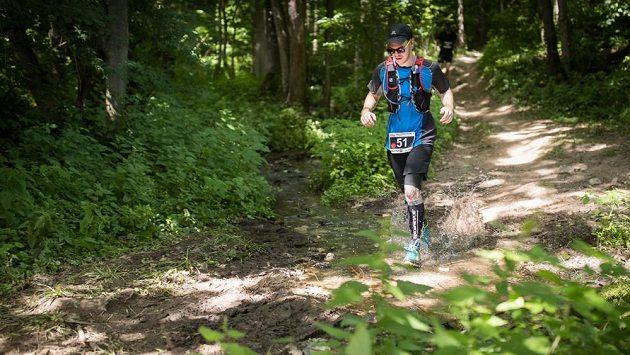 Xtrail Krkonoše Vrchlabí: Zalesněné části poskytovaly běžcům blahodárný stín.