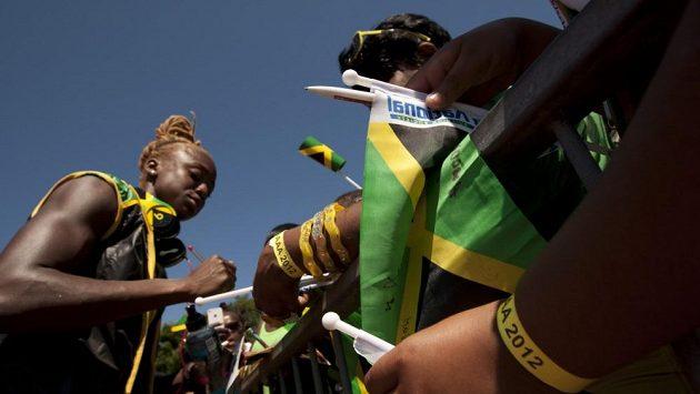 Jamajská čtvrtkařka Dominique Blakeová.