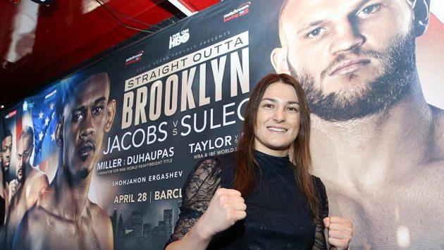 Katie Taylorová má jasný plán, vyhrát v dubnu další boxerský zápas.