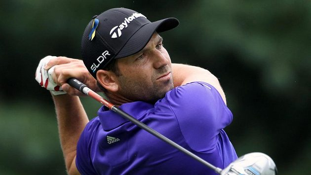 Španělský golfista Sergio García