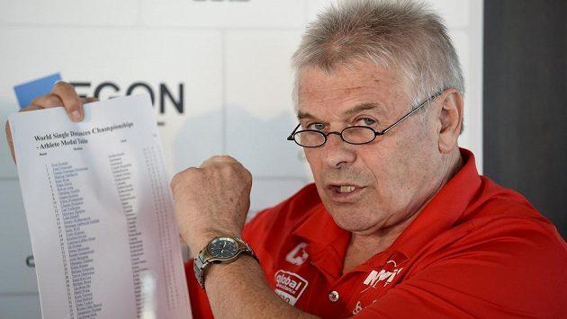 Trenér Petr Novák na archivním snímku.