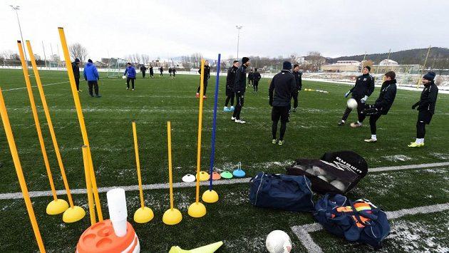Tepličtí fotbalisté zahájili přípravu na jarní část sezóny, vyzkouší během ní Estonce Baranova.