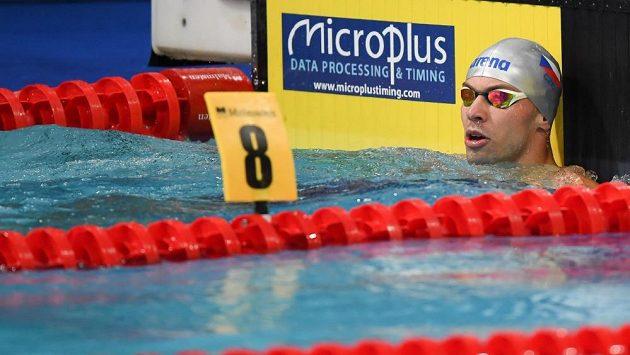 Plavec Tomáš Franta se blýskl parádním výkonem
