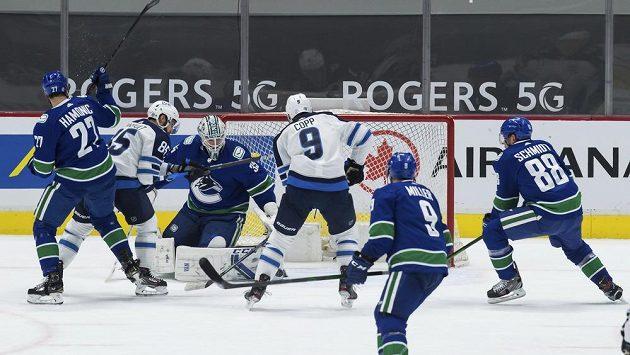 Vancouver Canucs - Winnipeg Jets - ilustrační foto