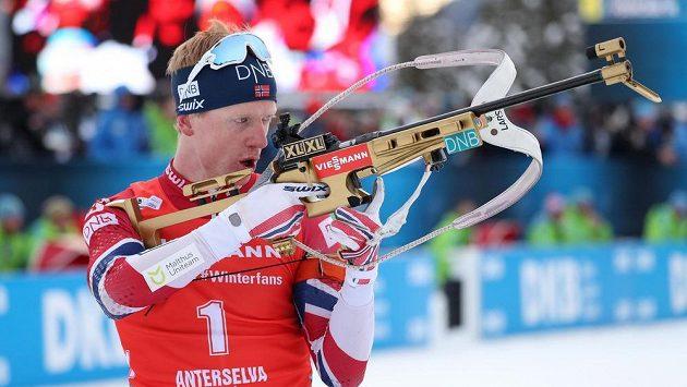Nor Johannes Thingnes Bö vyhrál stíhací závod v Anterselvě.