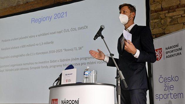 Předseda Národní sportovní agentury (NSA) Filip Neusser.