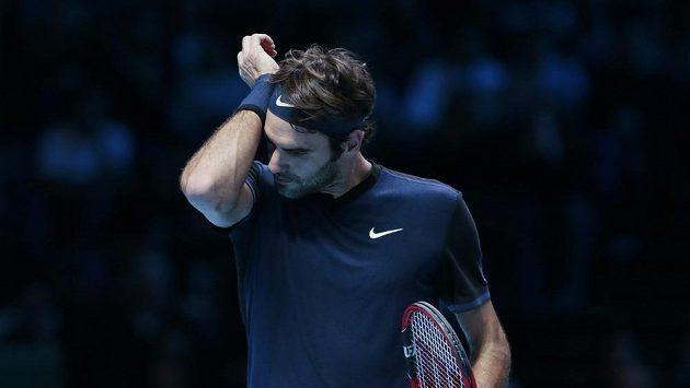 Švýcarský tenista Roger Federer