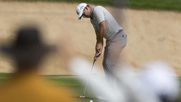 Španěl Sergio García na snímku z Dubaje.