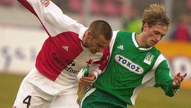Martin Kolář ještě v dresu Bohemians v roce 2002.