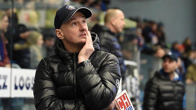 Trenér Plzně Michal Straka