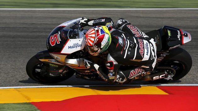 Francouzský jezdec Johann Zarco je šampiónem třídy Moto2.