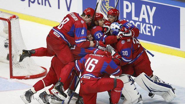 Za ruské hokejisty v Soči nenastoupí Denis Kokarev
