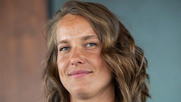 Úspěšná česká tenistka Barbora Strýcová