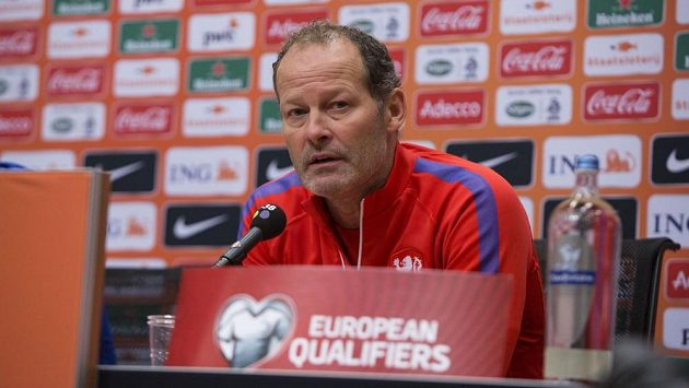 Trenér nizozemských fotbalistů Danny Blind