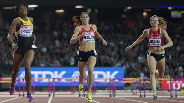 Zuzana Hejnová skončila na MS v Londýně čtvrtá.