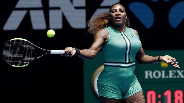 Americká tenistka Serena Williamsová neměla v prvním kole Australian Open problém.