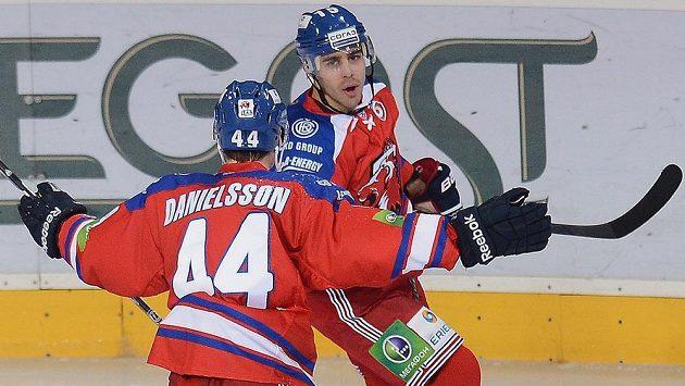 Útočník Nicklas Danielsson ve Lvu Praha skončil.