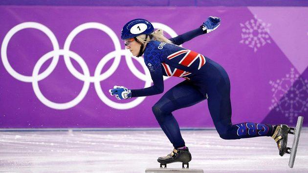 Snímek z olympijského Tokia, ze závodu žen v short tracku. (ilustrační foto)