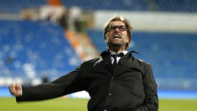 Kouč Dortmundu Jürgen Klopp zářil po zápase štěstím. Borussia si po šestnácti letech zahraje finále Ligy mistrů.