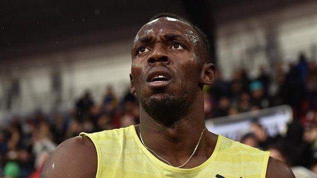 Kvůli zranění vynechá jamajský sprinter Usain Bolt dva mítinky Diamantové ligy