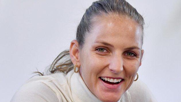Tenistka Karolína Plíšková před začátkem nové sezony.