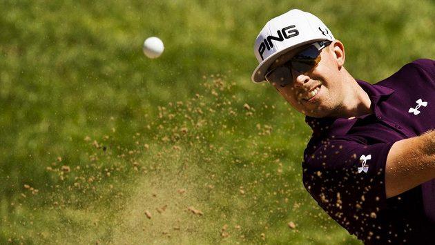 Americký golfista Hunter Mahan