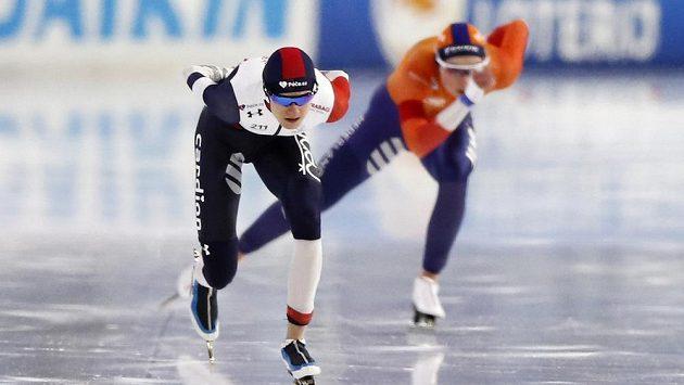 Martina Sábíková v závodě na 1500 metrů.