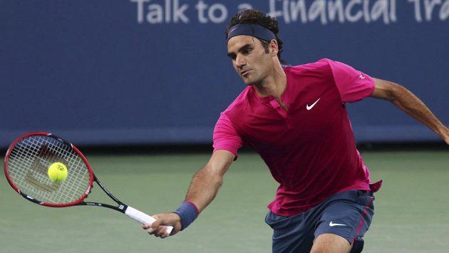 Roger Federer na turnaji v Cincinnati triumfoval už posedmé.
