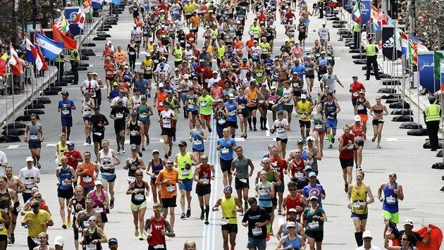 Bostonský maraton, ilustrační foto.