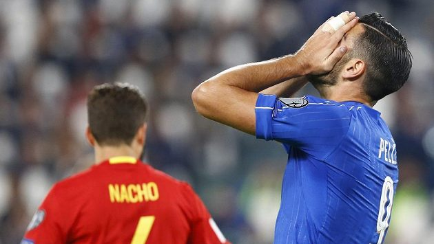 Italský útočník Graziano Pellé byl vyřazen z reprezentace.