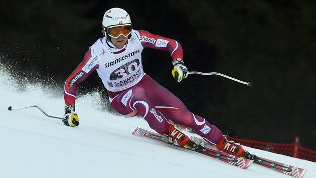 Norský lyžař Aleksander Aamodt Kilde.