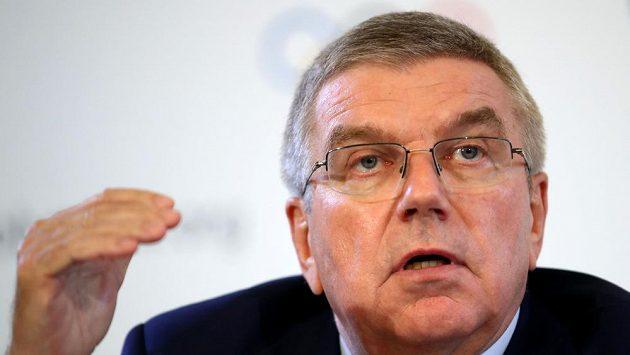 Předseda Mezinárodního olympijského výboru Thomas Bach.