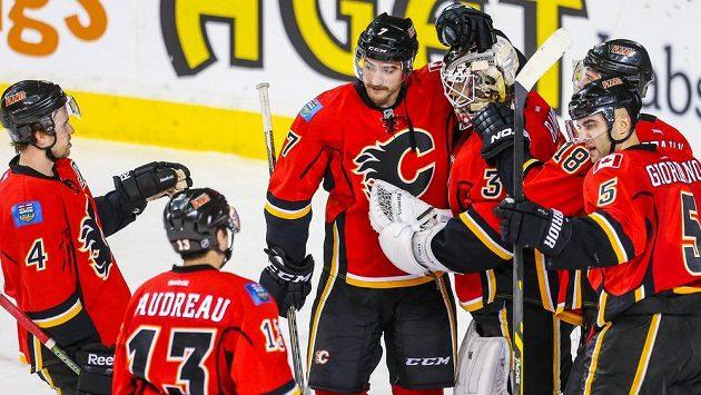 Hokejisté Calgary Flames.