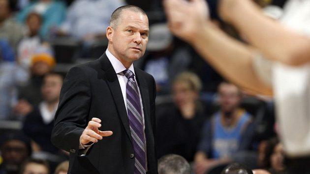 Basketbalový kouč Michael Malone