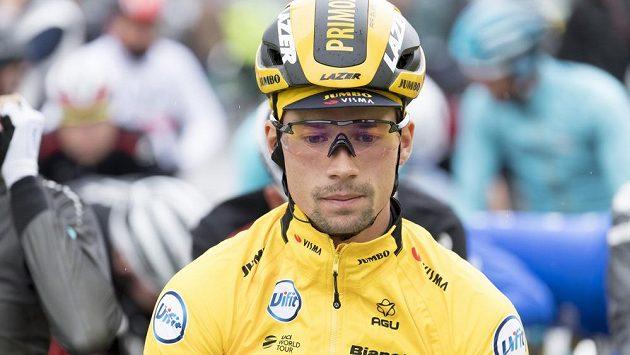 Slovinský cyklista Primož Roglič vyhrál předposlední čtvrtou etapu závodu Kolem Romandie a pojistil si průběžné vedení.