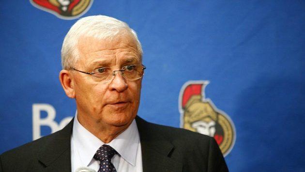 Generální manažer Ottawy Senators Bryan Murray.